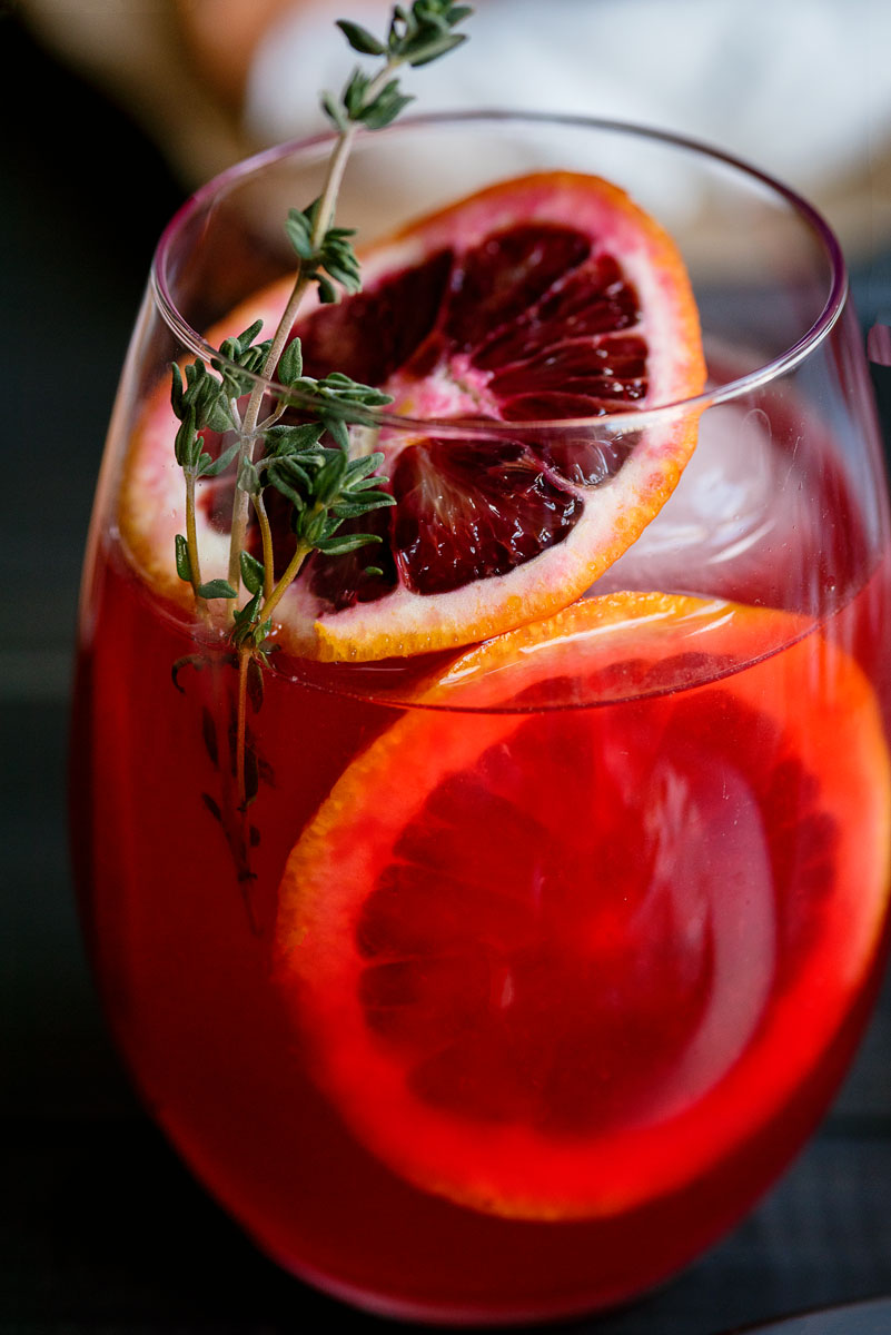 Blood Orange Negroni Cocktail Recipe - Unique Variant
