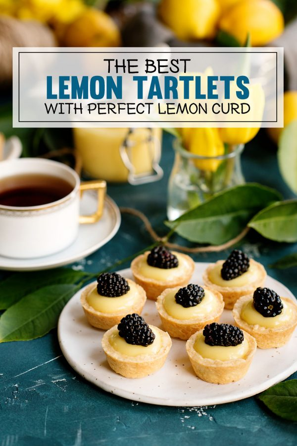 Meyer Lemon Tartlets with Lemon Curd Recipe for Bite Sized Desserts