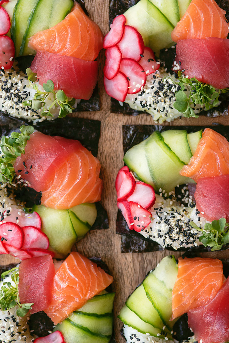 How to Make Sushi Donuts Recipe - Food Instagram Trends