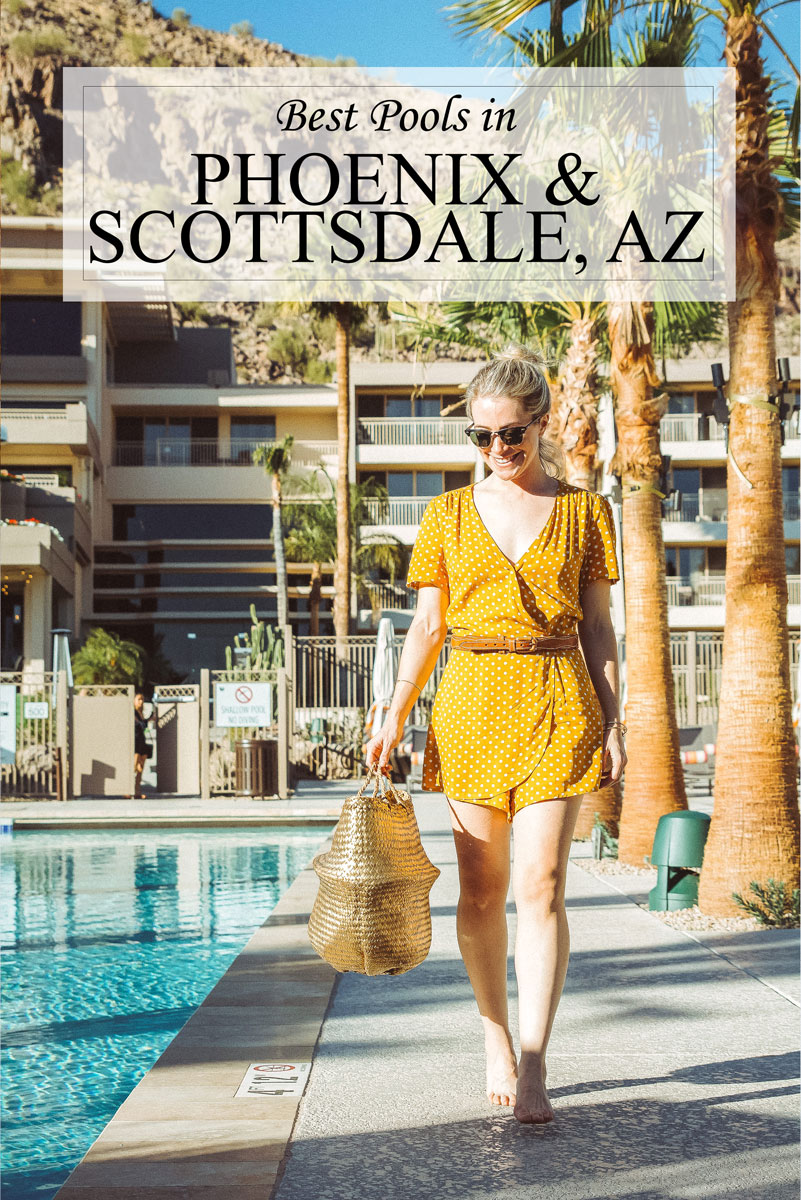 Best Hotel Pools Scottsdale and Phoenix Arizona, plus one with FREE entry!