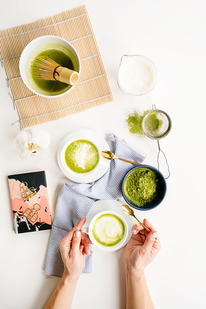 How to Make Homemade Matcha Lattes Recipe + Video