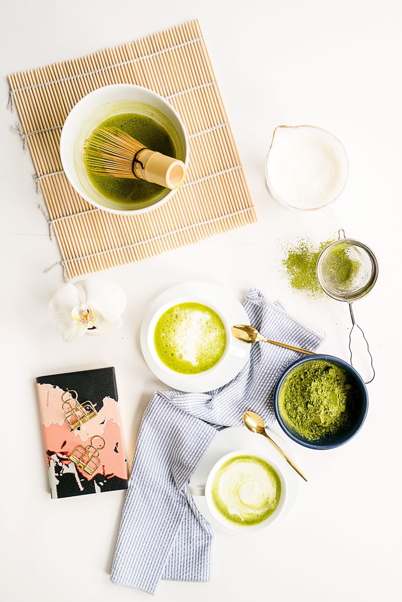 How to Whisk Matcha Tea the Japanese Way + Matcha Latte Recipe