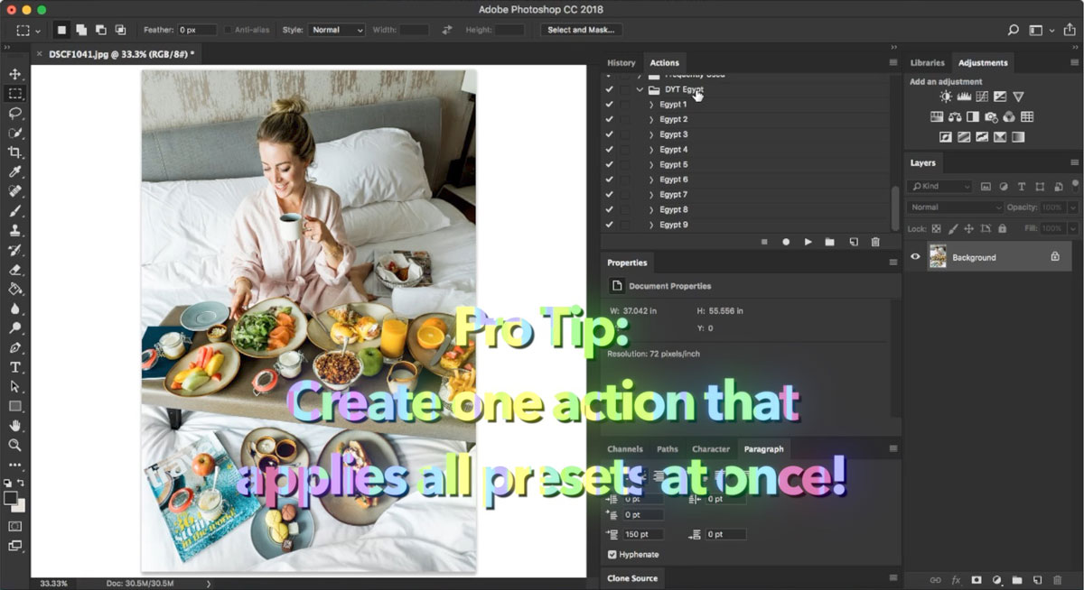 How to Create Camera Raw Presets and Adobe Photoshop Actions