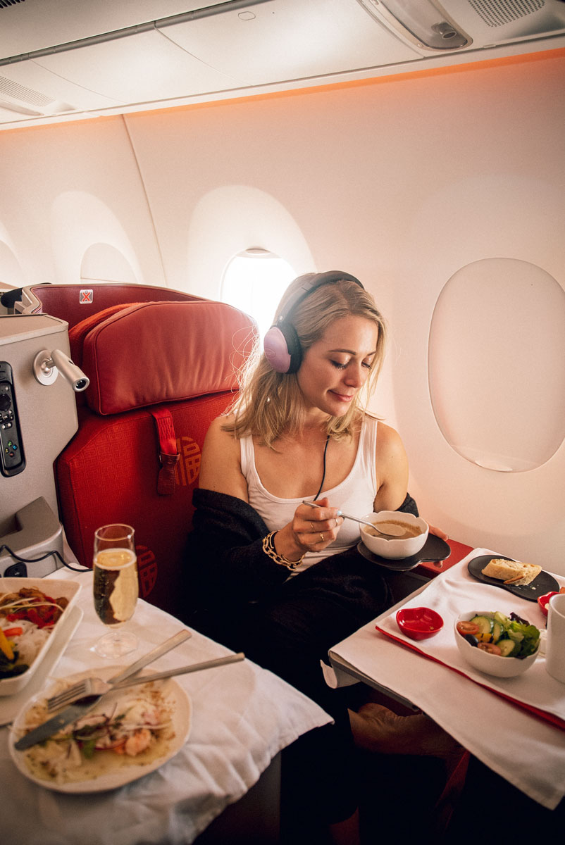 Best Luxury Airlines First Class Reviews Hong Kong Airlines