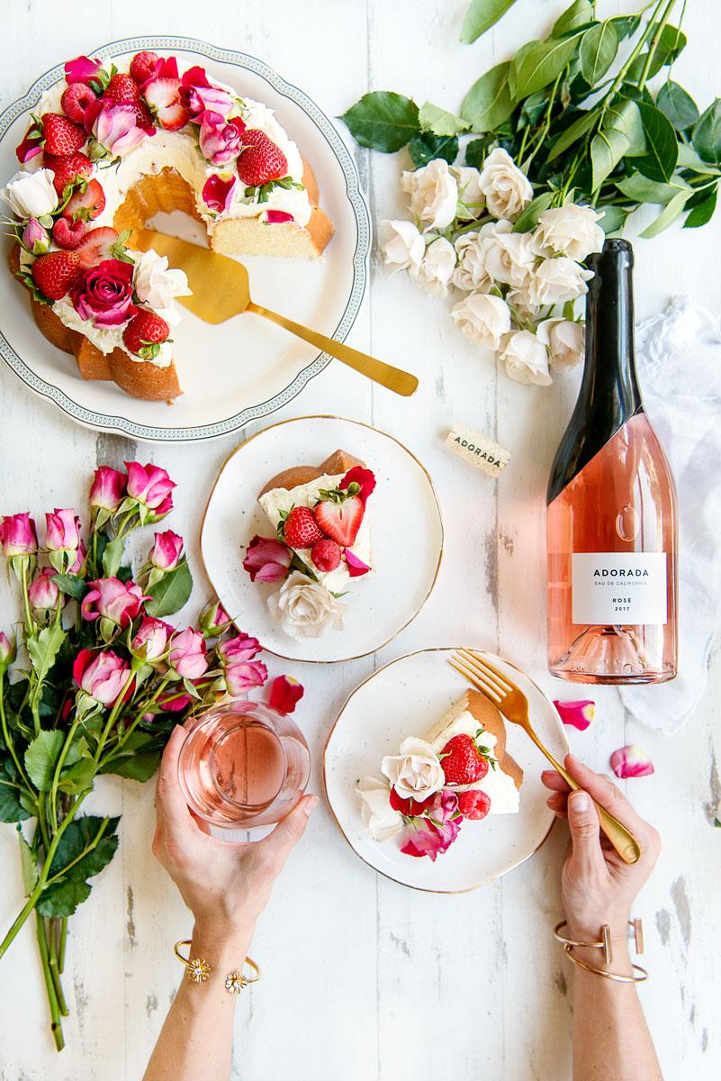 Adorada Wine Rose & Pinot Grigio Review California