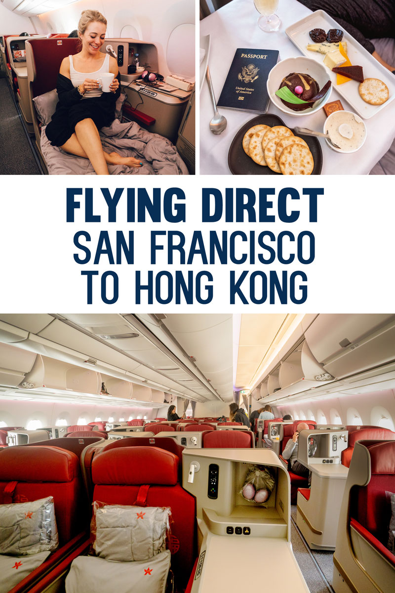 Direct Flight San Francisco to Hong Kong First Class with Hong Kong Airlines