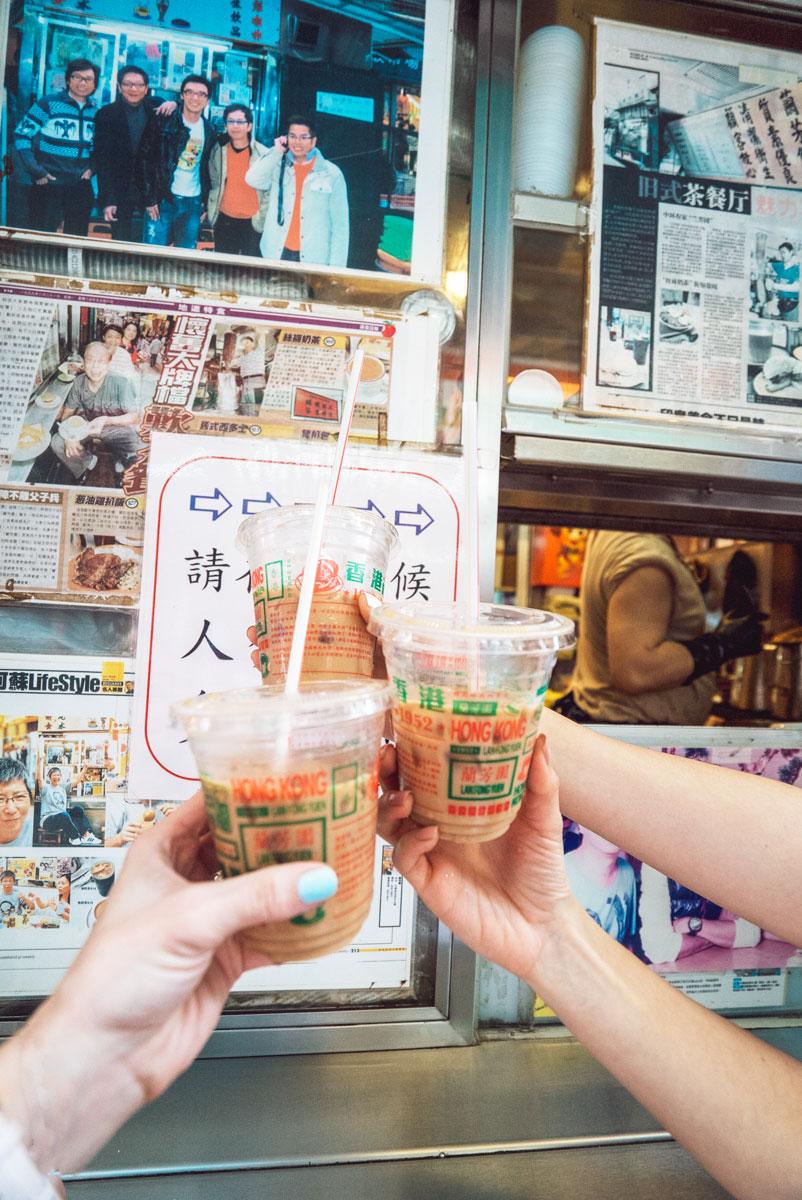 Best Traditional Hong Kong Milk Tea Lan Fong Yuen