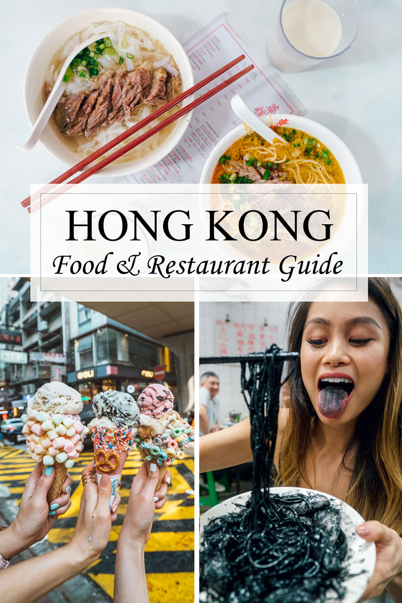 Hong Kong Food Guide - Where to Eat Hong Kong & Travel