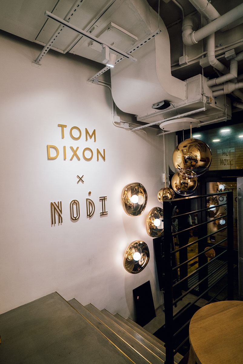 Tom Dixon Design Store Nodie Coffee Shop Hong Kong Travel