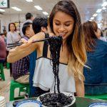 Tung Po Hong Kong Restaurant Squid Ink Pasta