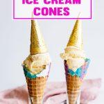 How to Make Unicorn Ice Cream Cones - Galaxy Unicorn Themed Party Ideas Kids