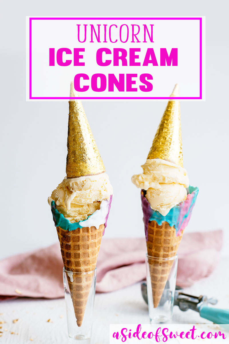 How to Make Unicorn Ice Cream Cones - Galaxy Unicorn Themed Party Ideas Kids