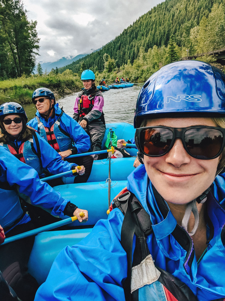 Whitewater Rafting Things To Do Glacier National Park Montana