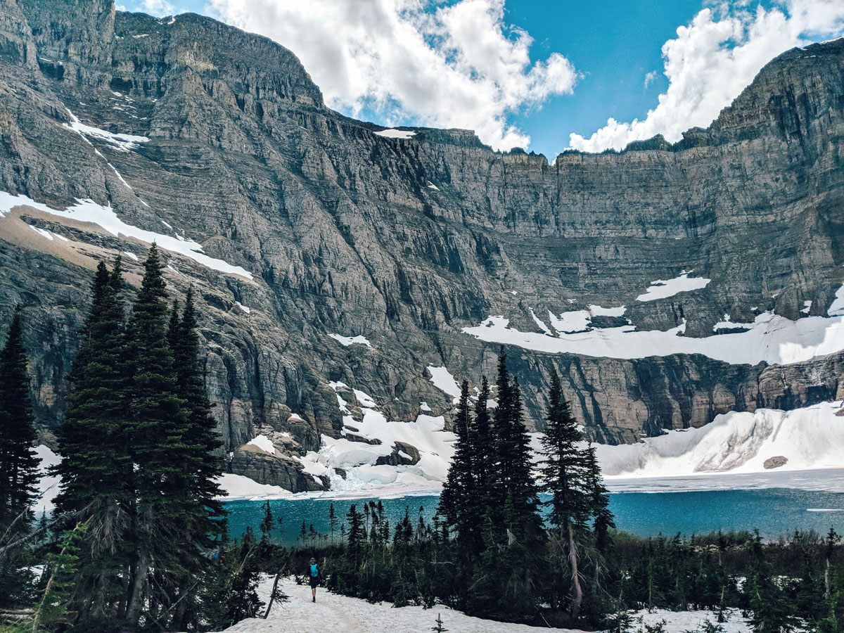 Many Glacier National Park Montana Best Hikes Iceberg Lake