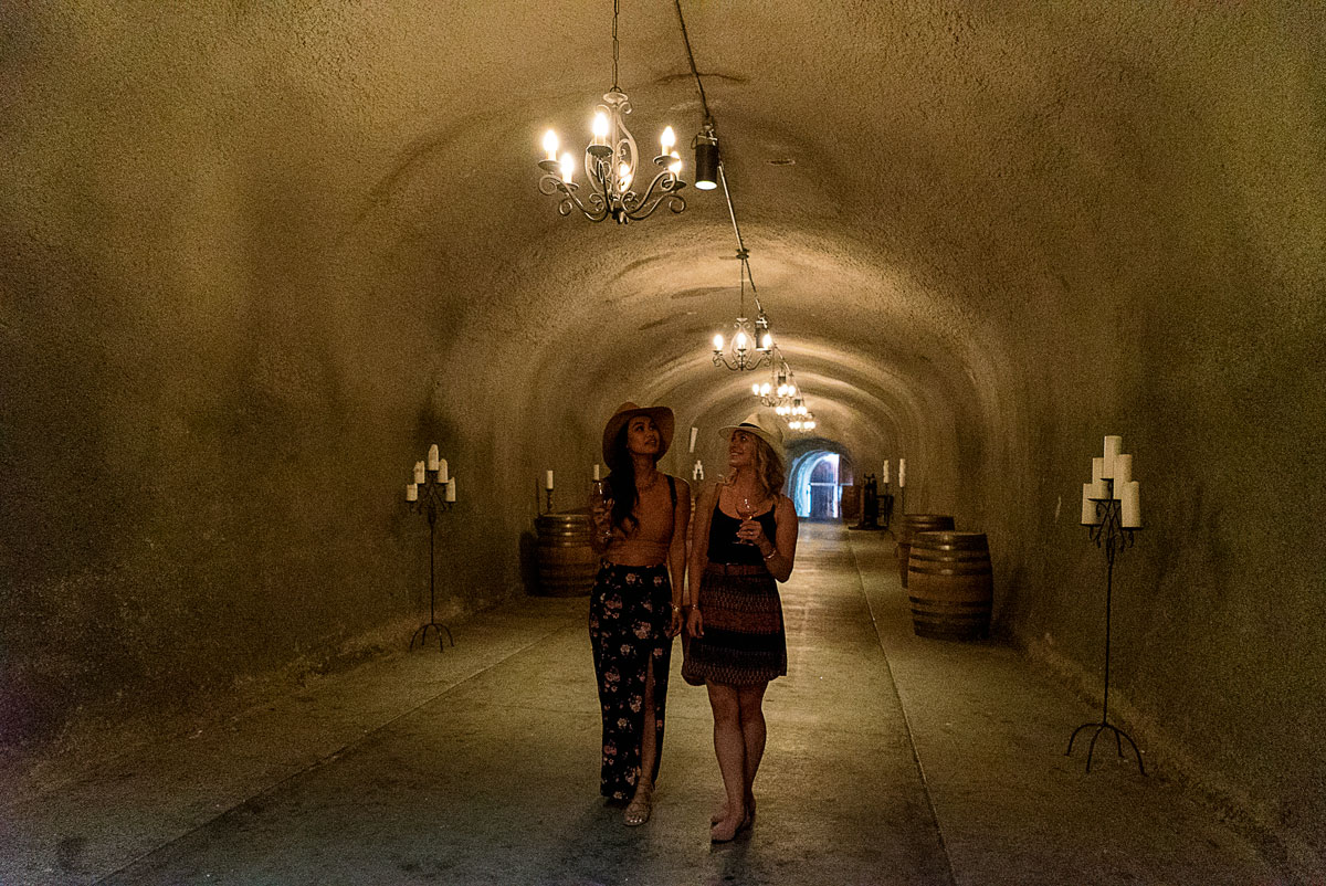 Wine Caves Wente Vineyard in Livermore California