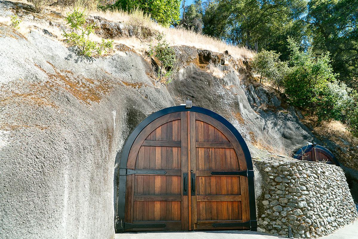 Wine Caves Wente Vineyard in Livermore California