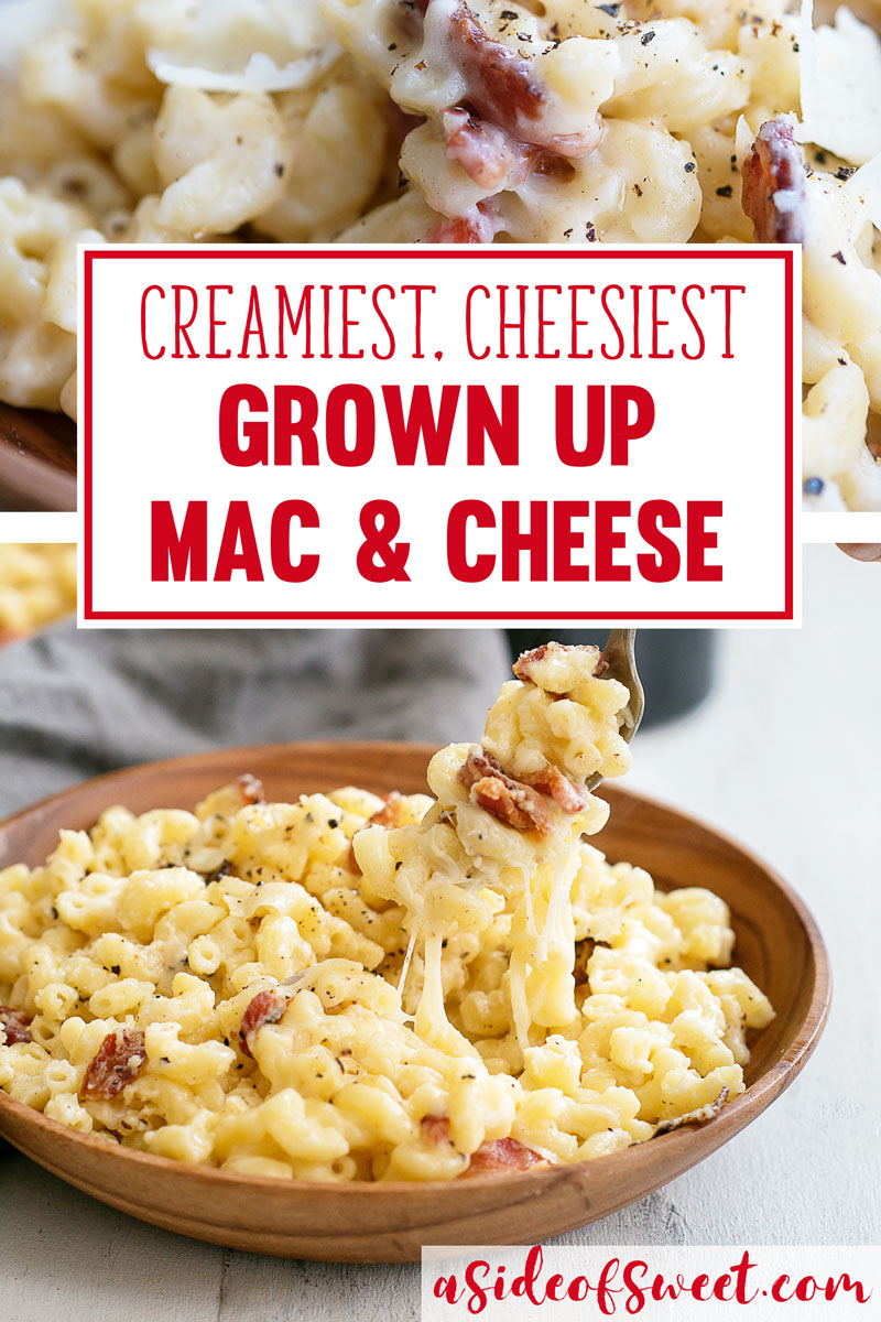 Creamy Stovetop Mac & Cheese Recipe with Bacon