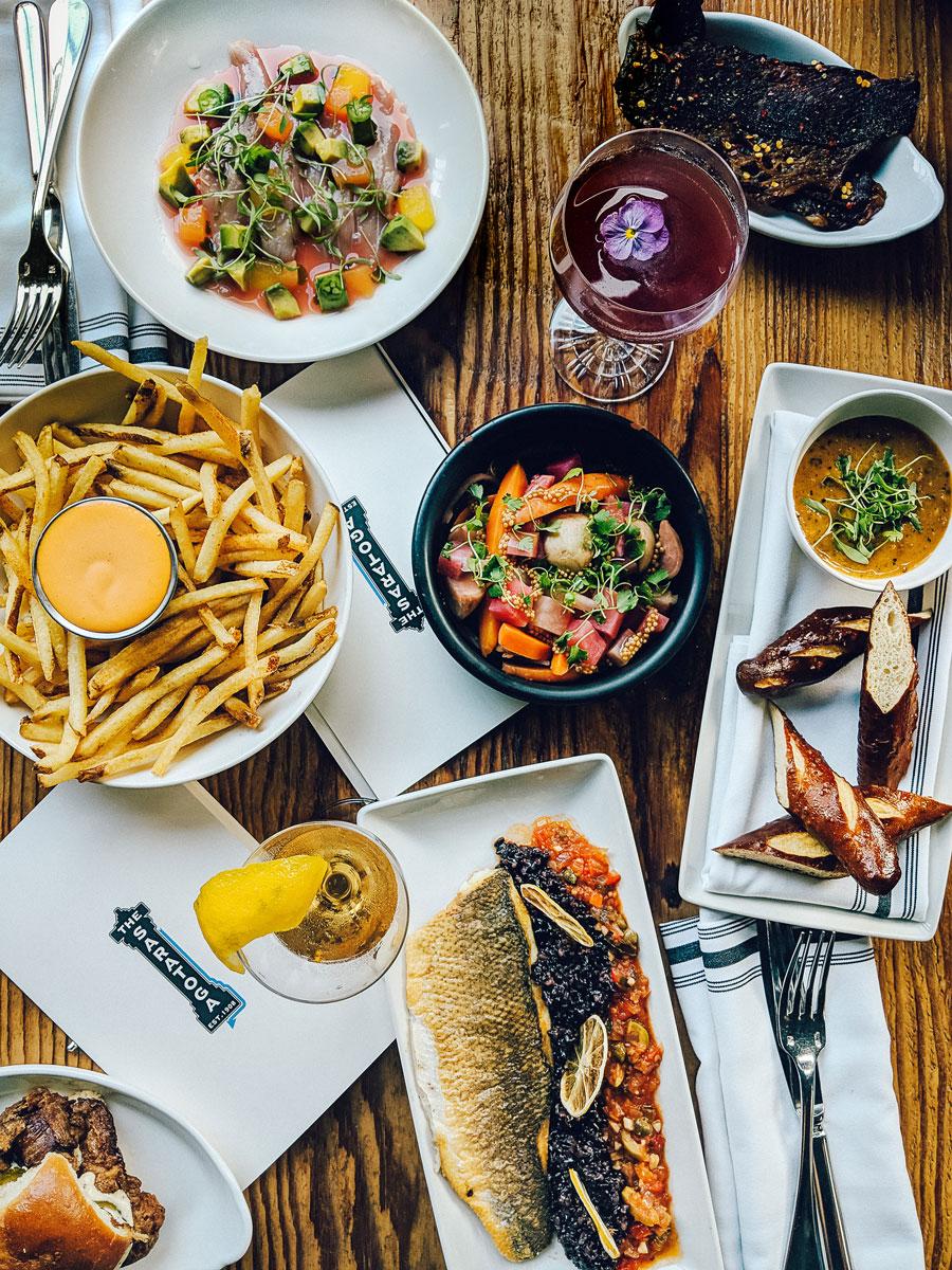 Saratoga Restaurant - Where to Eat in San Francisco, CA Tenderloin Neighborhood
