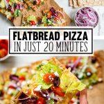 Healthy Flatbread Pizza Recipe Easy Appetizer Idea