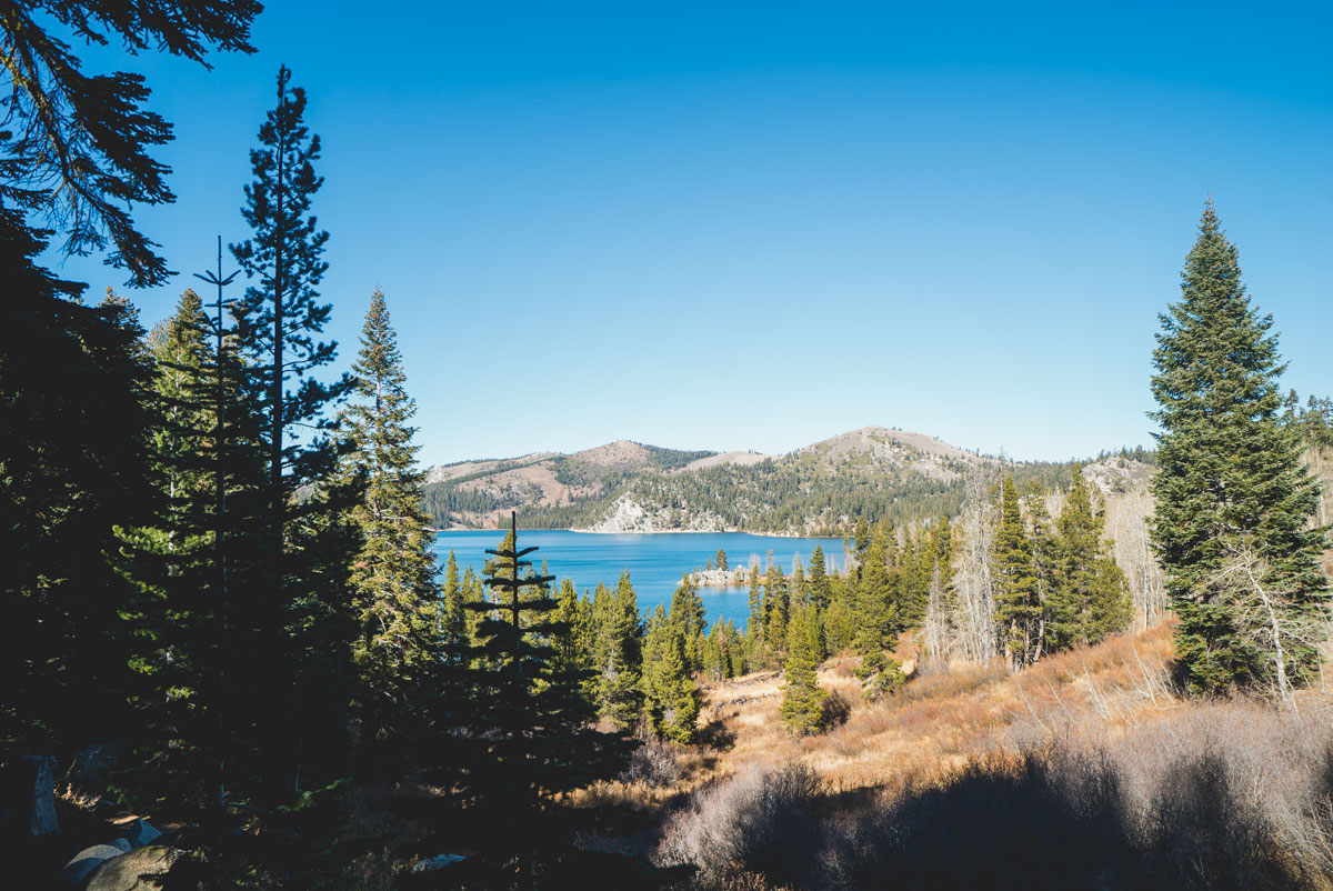 Best Hikes North Lake Tahoe Spooner LakeDog Friendly