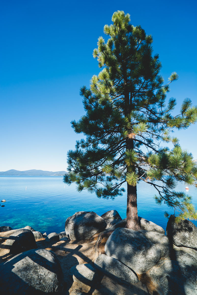 Best Views Lake Tahoe - Sand Harbor State Park Nevada