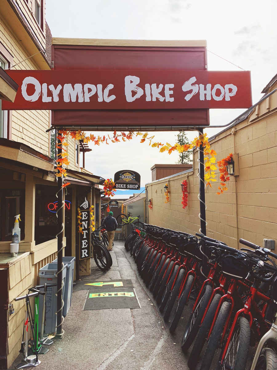 Olympic Bike Shop Tahoe City Bike Rentals -Things to Do Lake Tahoe