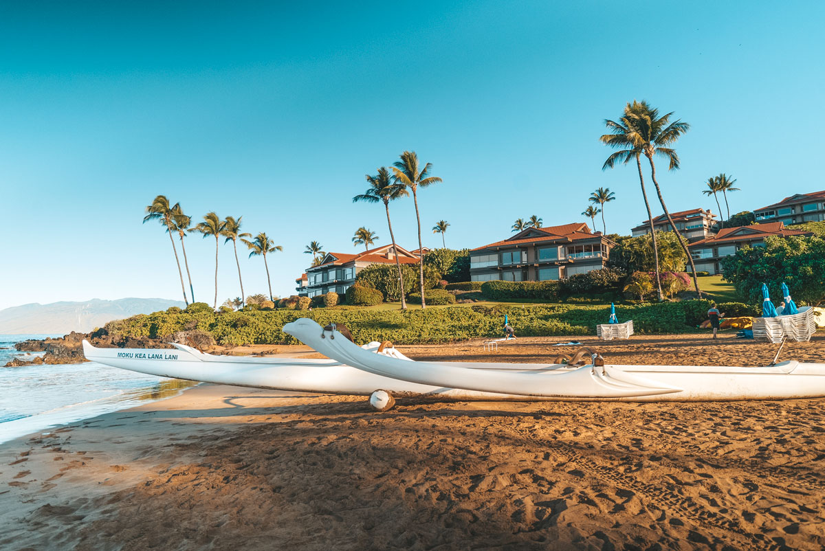 Fairmont Kea Lani Resort in Maui Review - Traditional Hawaiian Canoe RIde