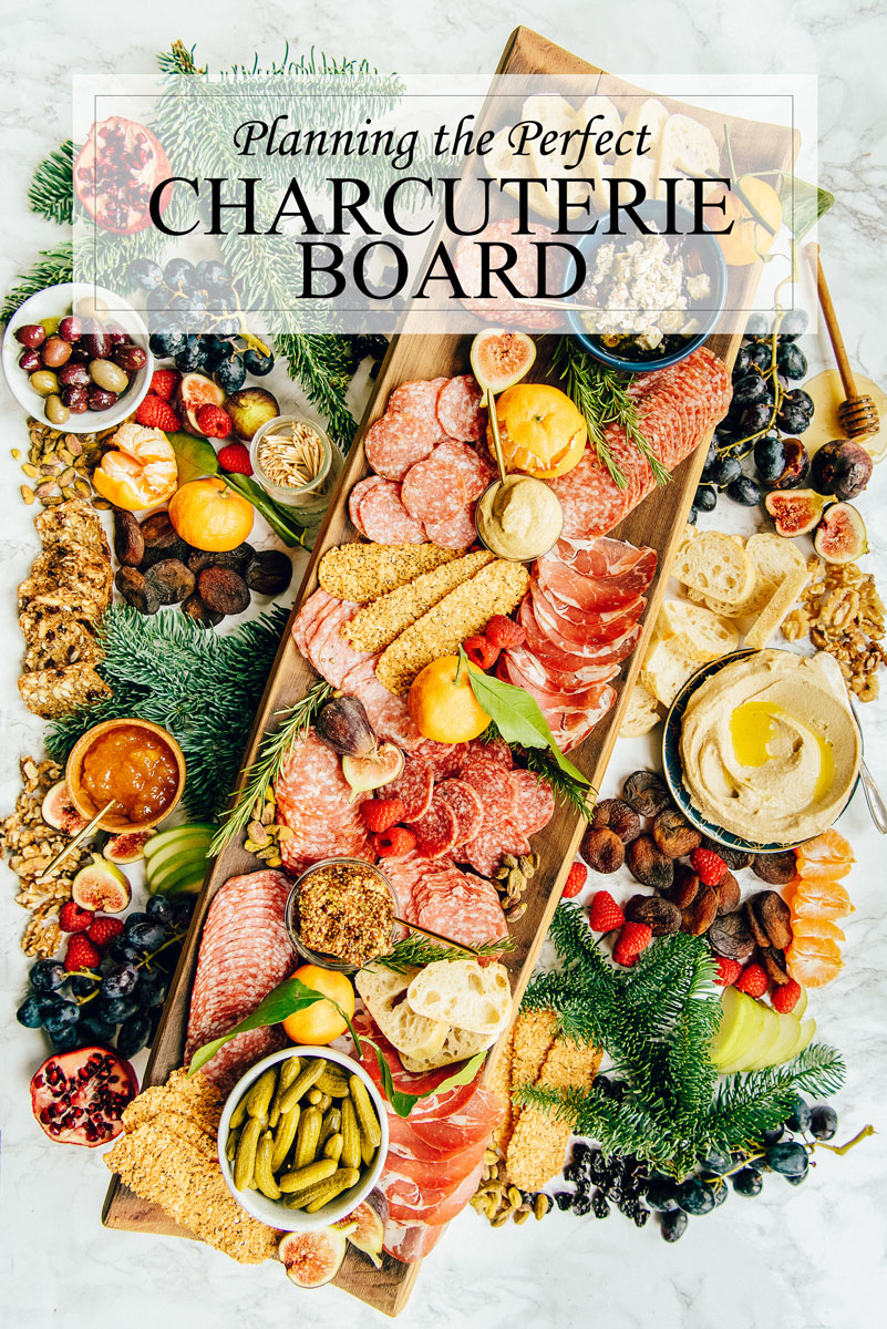 How to Make a Charcuterie Board Platter for the holidays.