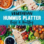 What to Use Vegetarian Mezze Platter Appetizer with Hummus