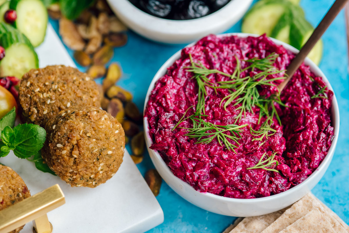 Zahav Salt Roasted Beet Hummus Dip Recipe