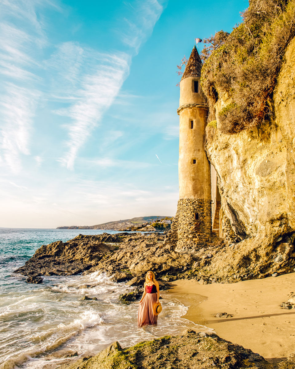 What to Do Orange County Travel Guide - Laguna Beach Victoria Pirate Tower