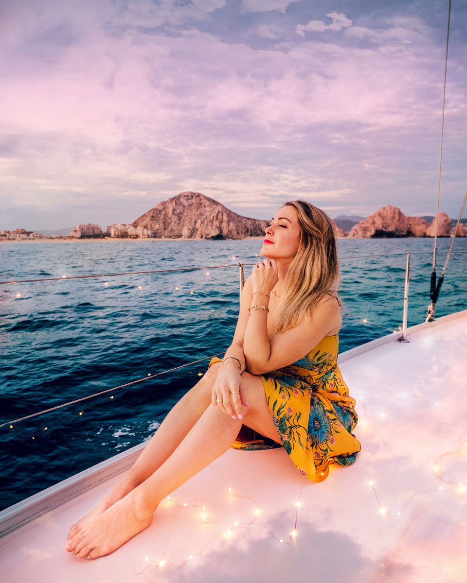 Things to Do Cabo, Mexico - Sunset Boat Ride Cabo Adventures