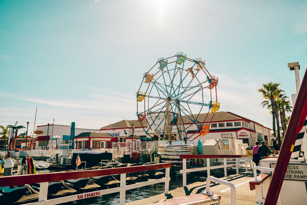 What to Do Orange County Travel Guide - Balboa Island Pier Newport Beach