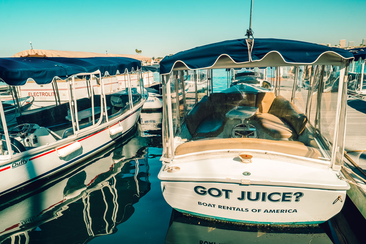 What to Do Orange County Travel Guide - Duff Boat Rental Newport Beach