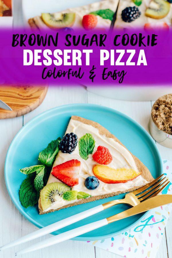 Brown Sugar Cookie Recipe Fruit Pizza