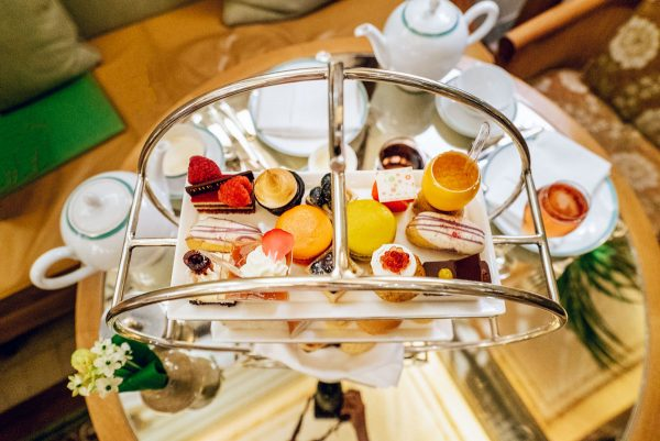 High Tea Afternoon Tea Plaza Hotel Palm Court NYC Review