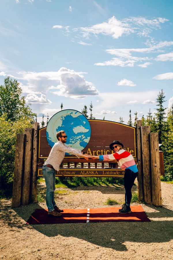 Visiting the Arctic Circle Fairbanks, Alaska