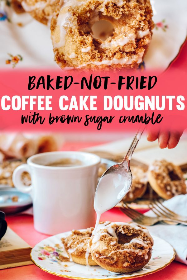Not Fried Baked Coffee Cake Doughnuts Recipe