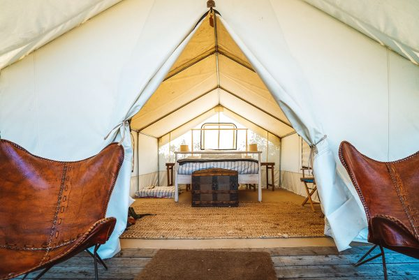 Mendocino Grove Glamping Review - near San Francisco Northern California
