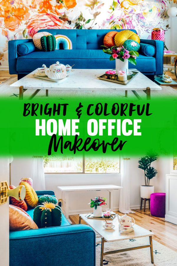 Colorful and Fun Home Office Ideas For Women Step by Step