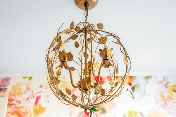 Lighting Floral Chandelier Home Remodel Light and Bright