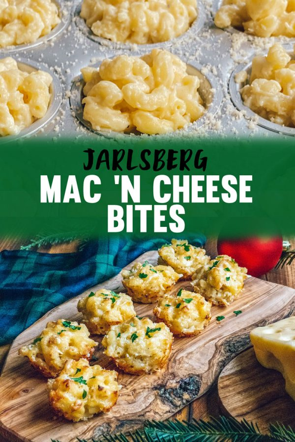Mac N Cheese Bites Recipe with Jarlsberg Cheese