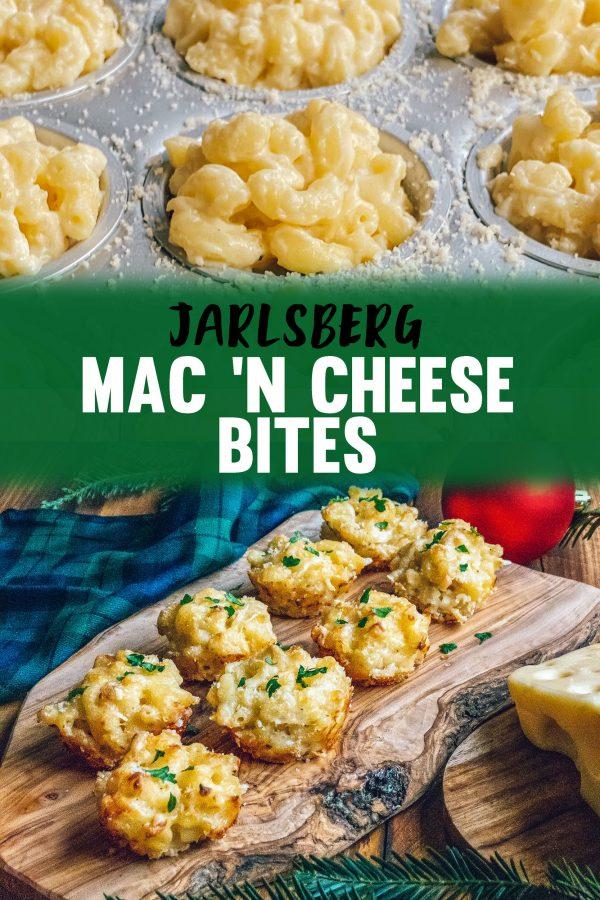 Mac N Cheese Bites Recipe with Jarlsberg Cheese