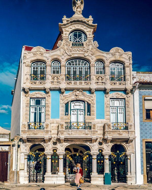 Aveiro, Portugal Attractions Art Deco Architecture