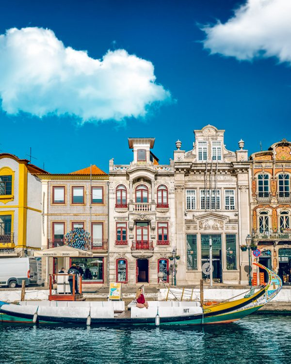 Aveiro, Portugal Attractions Boat Ride Canals Venice