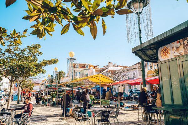 Caldhas das Rahinas Fruit Market Portugal