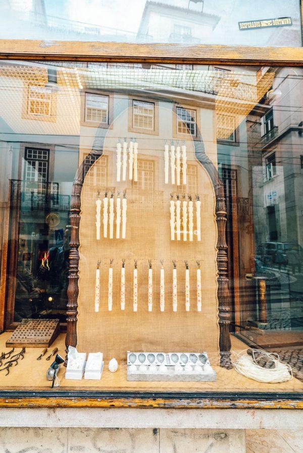 Candle Shop Lisbon, Portugal Caza das Vellas Loreto