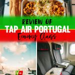 TAP Airlines Portugal Economy Class Review - Food, Seats, Service
