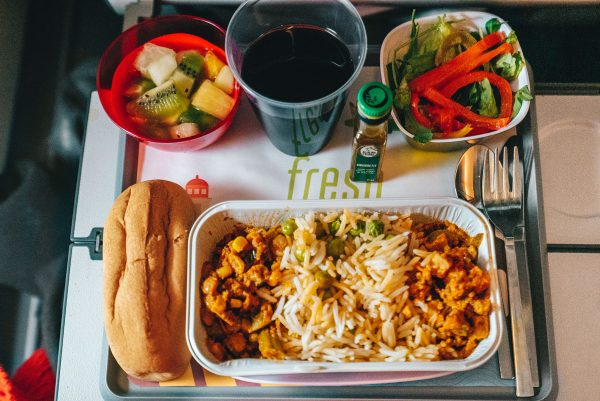 TAP Airlines Portugal Review Economy Class Food
