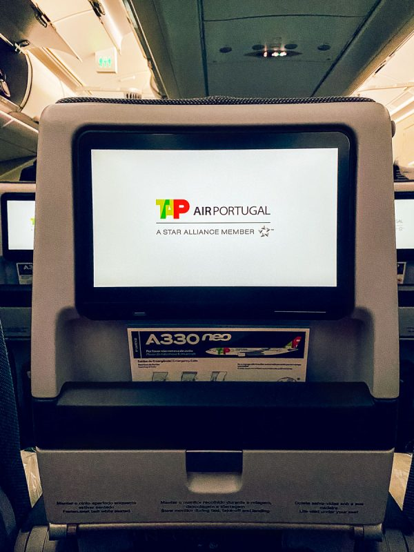TAP Airlines Portugal Review Economy Class